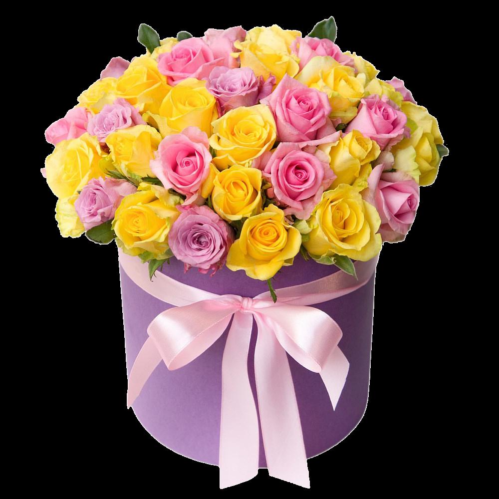 Розы в коробке*