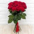 15 бордовых Роз 70 см