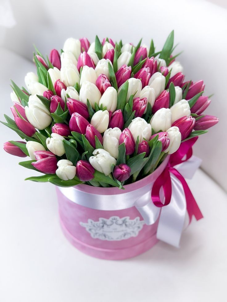 Тюльпаны в коробке*